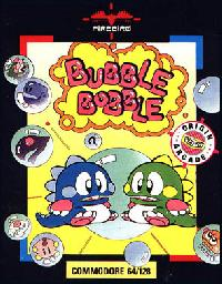 Bubble Bobble C64 Cover