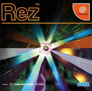 Rez Dreamcast cover