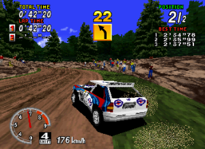 Sega Rally Mountain track